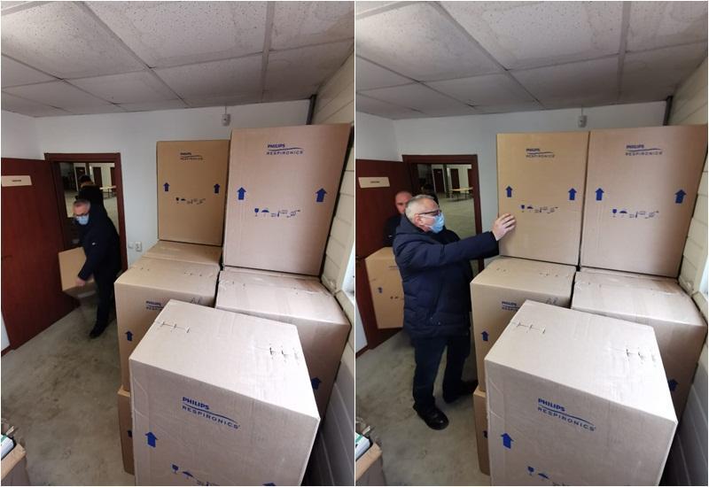 Încă 30 concentratoare de oxigen pentru pacienții arădeni bolnavi de Covid-19 din Arad