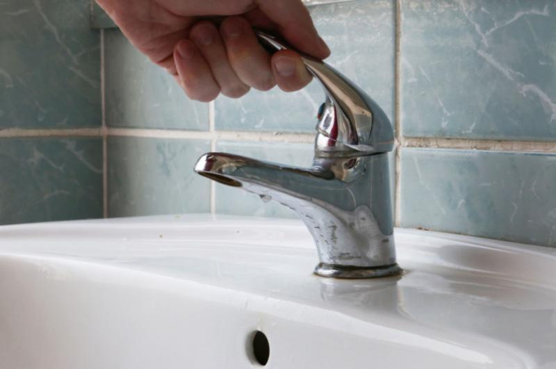 Sâmbăteniul fără apă din cauza unei avarii