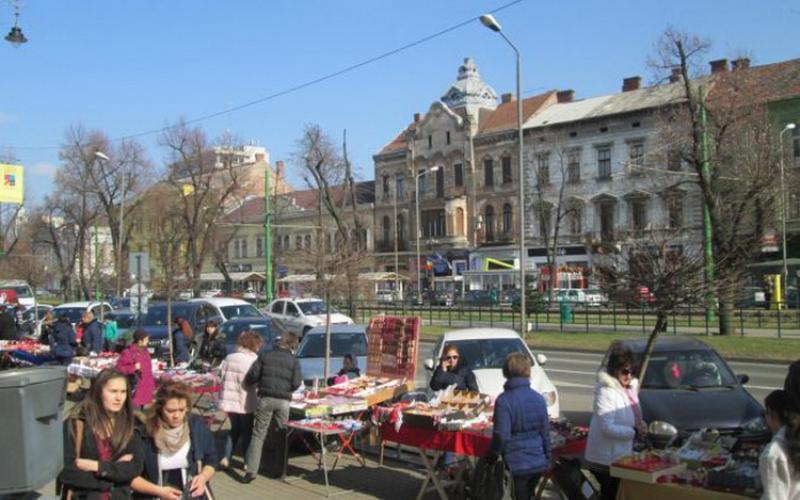Peste 100 de locații pentru vânzarea mărțișoarelor în Arad