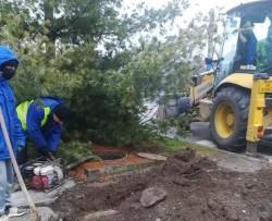 O avarie la o conductă întrerupe furnizarea apei potabile pe mai multe străzi din municipiu