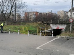 """Pasaj din zona Micălaca transformat în """"pietonal"""" pentru o perioadă de 6 luni"""