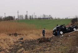 Accident la ieșirea din Arad spre Pecica