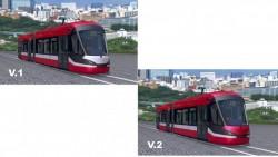Ce combinație de culori ai vrea pe noile modele de tramvaie din Arad?