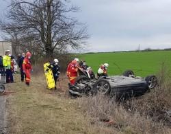 Accident la ieșirea din Arad spre Timișoara cu victimă încarcerată (ulterior decedată)