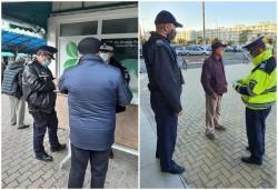 Aproape 25.000 de lei sanțiuni aplicate în Arad pentru nepurtarea măștii în doar 24 de ore
