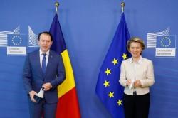 Întrevederile prim-ministrului României, Florin Cîțu, cu președintele Comisiei Europene, Ursula von der Leyen