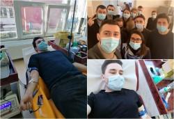 Tinerii din PNL Arad au donat sânge
