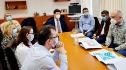 Complexului Matern-Pediatrie, pe masa de lucru a Consiliului Județean Arad