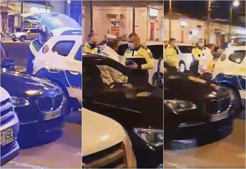"""Rupt de beat la volan, luat pe sus de polişti luni seara în sensul giratoriu de la """"Boul Roşu"""""""