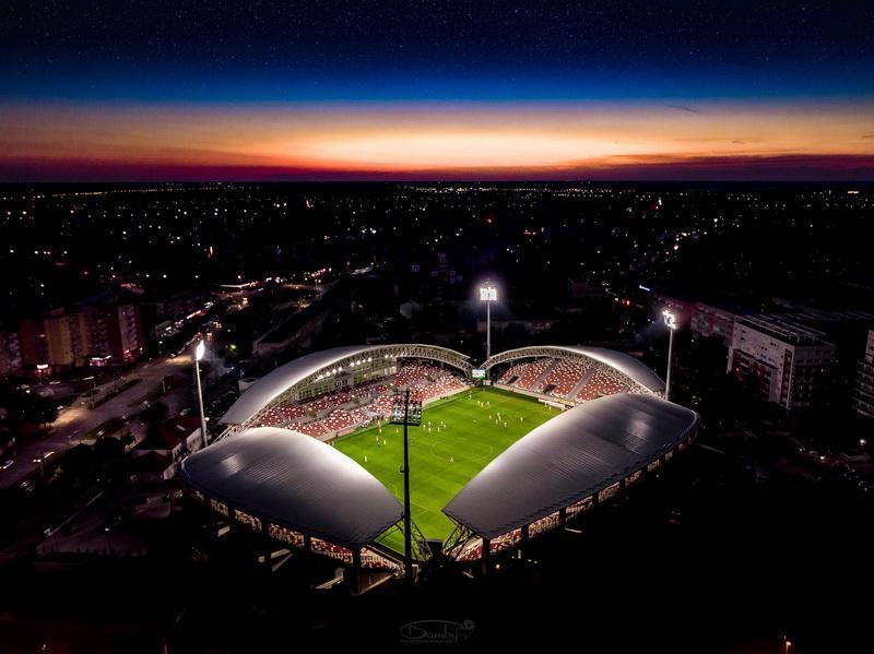 """Votează pentru Arena  """"Francisc Neuman"""" din Arad, care a fost nominalizată la Stadionul Anului 2020"""