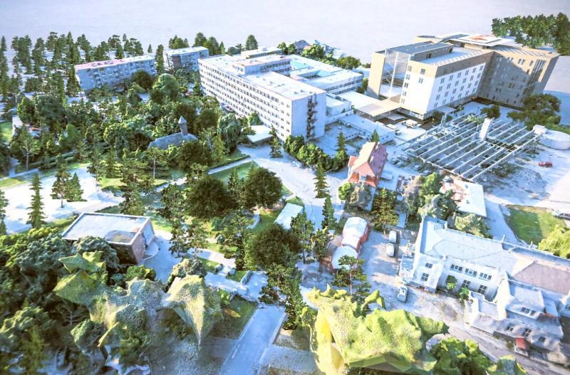 Proiectantul lucrării a pus la dispoziție imagini cu noul spital Matern- Pediatrie
