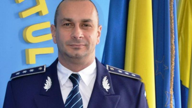 Adrian Șimon este noul inspector șef al IPJ Arad