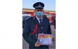 MALIȚA IOAN  - Pompierul de onoare al anului 2020 al ISU ARAD