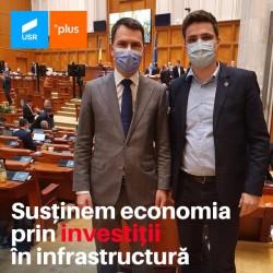 Susținem economia prin investiții în infrastructură