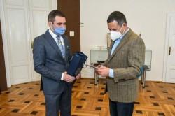 Consulul onorific al Austriei în vizita la Arad