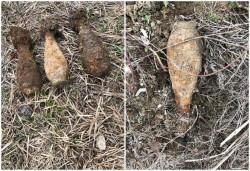 S-au găsit 3 bombe în albia Canalului Morilor din Mocrea