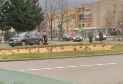 Pieton accidentat în zona Gării