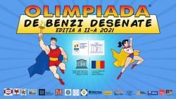 Elevii arădeni invitați să participe la OLIMPIADA DE BENZI DESENATE Ediția a II-a, 2021