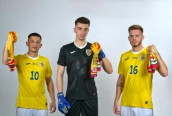 Galbenul, culoarea optimismului și bucuriei, culoarea dominantă în noul echipament al reprezentativelor de fotbal ale României