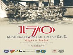 """Expoziția """"Jandarmeria Română 1850 - 2020"""" a Muzeului Național de Istorie a României la Sala """"Clio"""" a Complexului Muzeal Arad"""