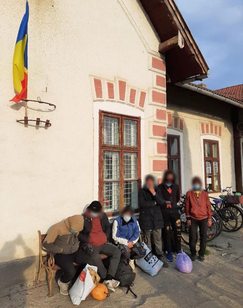 Două grupuri de migranți într-o săptămână, la Pecica