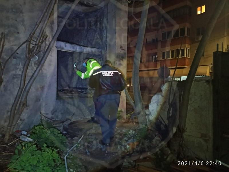 47 de locații în care înnopteză oamenii străzii identificate de polițiștii locali, în diverse zone din Municipiul Arad
