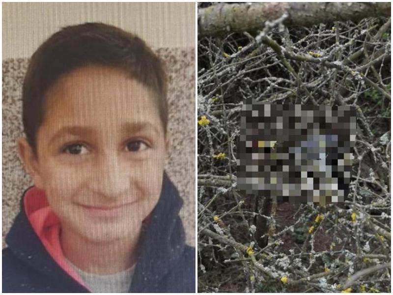 Expertiza efectuată de INML București a confirmat! Cadavrul descoperit pe câmp este al lui Sebastian Corbei, băiatul de 7 ani care a fost dat dispărut de acasă