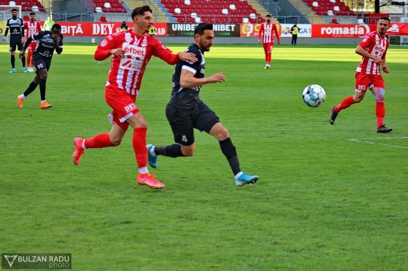 UTA Arad - Hermannstadt 0-1. Sibienii au luat o gură uriașă de oxigen