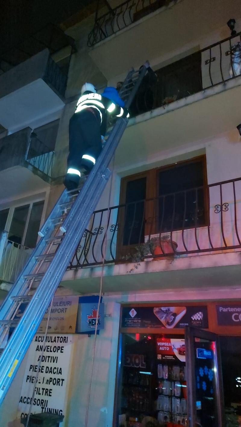 Incendiu la un magazin de piese auto din Sebiș