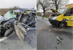 Acccident rutier cu victime între Arad și Zimand Cuz. Traficul blocat mai bine de o oră pe DN79