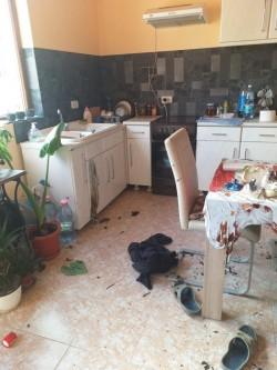Un bărbat s-a ales cu arsuri pe 30% din suprafața corpului în urma exploziei unei butelii de gaz  la Pâncota.