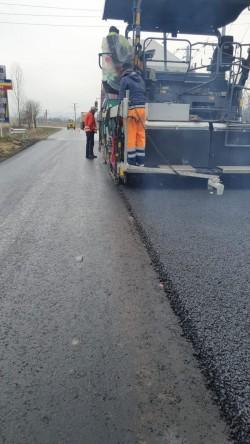 Lucrările la drumul Bârsa- Sebiș- Moneasa se apropie de final