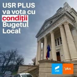 USR PLUS votează bugetul local cu anumite condiții