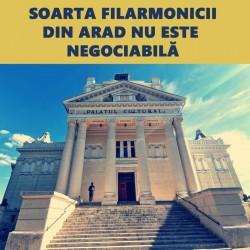 PSD Arad : Soarta Filarmonicii din Arad nu este negociabilă !