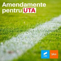 USR PLUS a preluat amendamentele suporterilor și ale clubului UTA