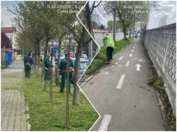 Continuă curățenia generală în municipiu