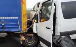 Accident cu 8 victime pe Autostrada A1