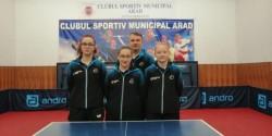 Fetele de la CSM Arad câştigă barajul şi se menţin în Superliga de tenis de masă