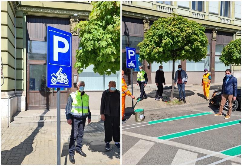 Peste 100 de locuri de parcare gratuite la Arad pentru scutere și motociclete