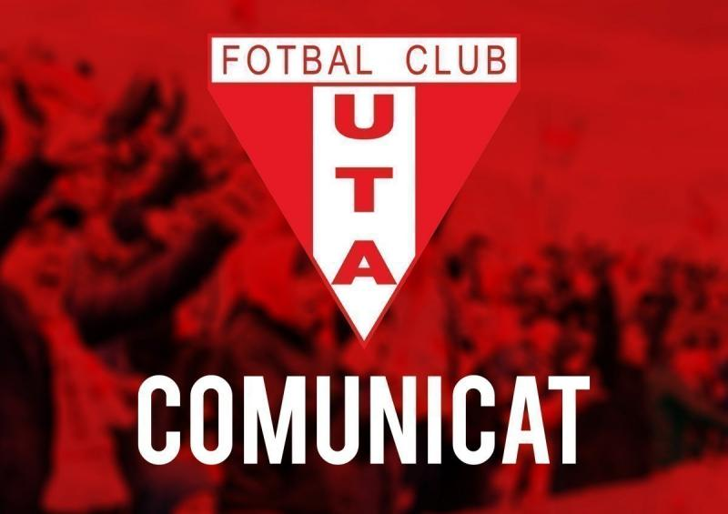 DNA a hotărât că UTA nu are nicio treabă cu acuzațiile aduse celor doi oficiali ai clubului