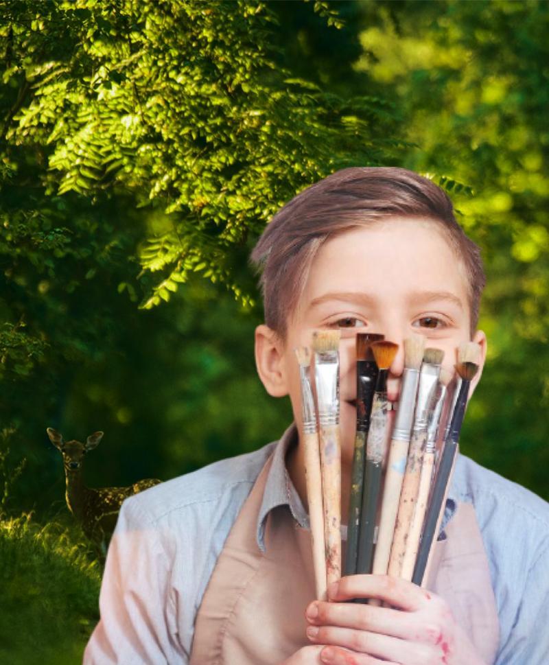 Rotaract Arad Cetate a dat startul Concursului Județean de Ecologie si Creație artistico-plastică