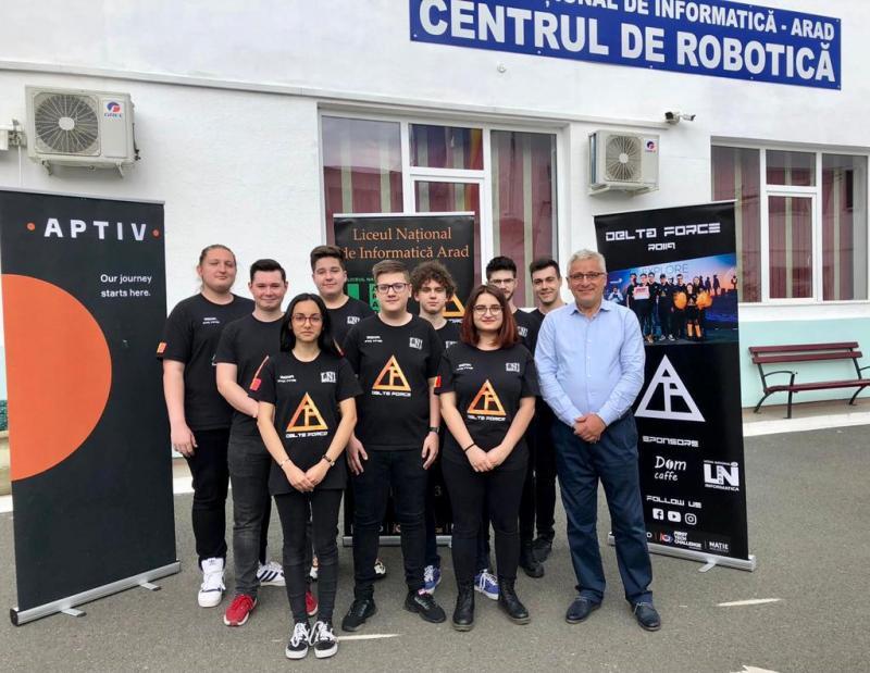 Performanță uriașă a echipei Delta Force a Liceului Național de Informatică Arad. Componenții echipei au fost invitați la cel mai prestigios concurs de robotică din Statele Unite