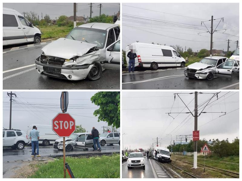 Accident cu victimă la intrare în Vladimirescu
