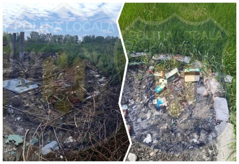 Amenzi de până la 25.000 pentru nesalubrizarea terenurilor pline cu deșeuri