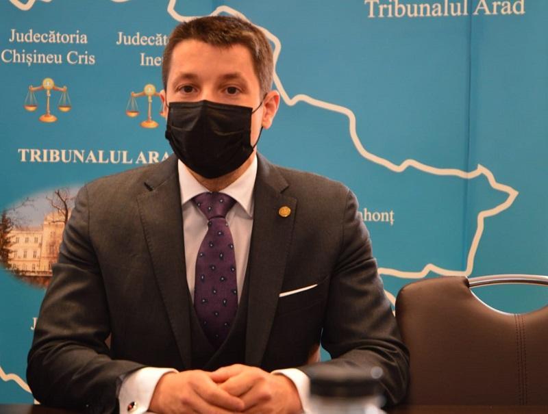 """Mihai Paşca: """"Digitalizarea sistemului de justiţie este prioritatea noastră!"""""""