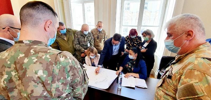 Cetatea Aradului, pe masa discuțiilor dintre primărie și armată