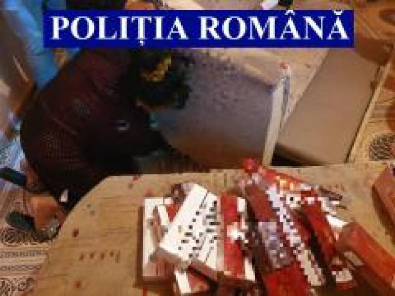 569 de pachete de țigări de contrabandă descoperite în urma unor percheziții la Olari