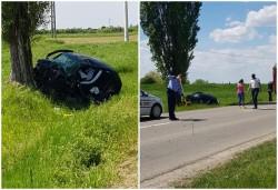 Accident grav la intrare în Ineu, victimă în stop cardiac! A fost solicitat elicopterul SMURD! Update - Victima a fost declarată decedată