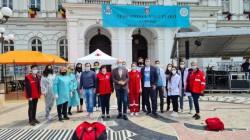 Dintre cei 2.006 arădeni vaccinați sâmbătă, 360 au ales Maratonul Vaccinării de la Palatul Administrativ