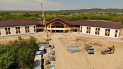 Consiliul Județean Arad anunță că noul Spital de Psihiatrie are deja fațada finalizată